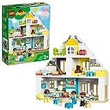 LEGO DUPLO Town - Casa de Juegos Modular, Set 3 en 1 Recomendado a Partir de 2 Años, Incluye Figuras de Animales y...