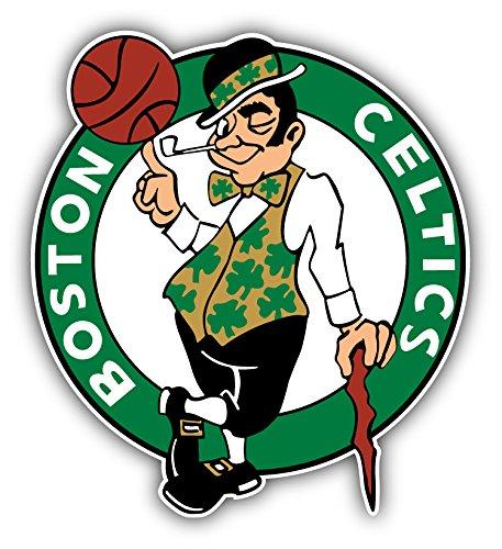 Boston City Celticz Sport Basketball-Emblem, gestanzter Aufkleber, 30,5 x 33 cm
