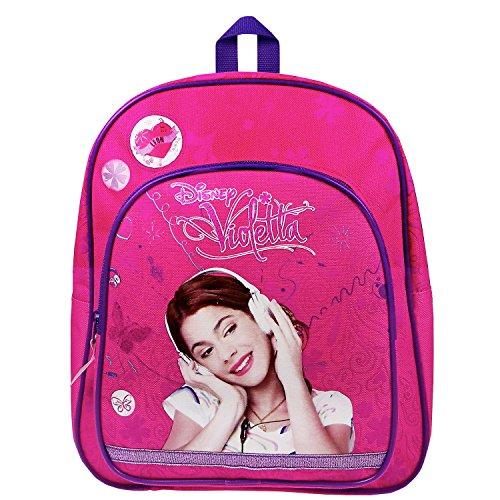 Violetta–Listen to Love Rucksack mit Fronttasche, 31x 25x 9cm