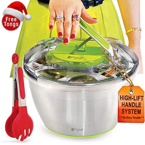 Pykal Essoreuse à salades en INOX Grande modèle...
