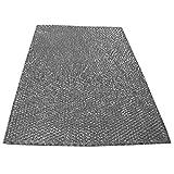 Spares2go Large Filtre en maille universel en aluminium Grande taille pour toutes les marques de hotte extracteur d'air grille d'aération 90x 47cm à découper à la bonne taille