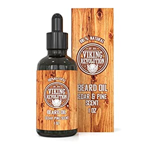 Beard Oil Conditioner - All Natural Cedarwood & Pine Scent with Argan & Jojoba Oils - Softens & Strengthens Beards and… 2
