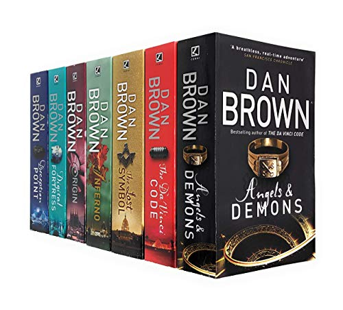 Dan Brown Collection - 7 Books: The Da Vinci Code, Angels and Demons, Deception Point, Digital Fortress, Origin, Inferno, The lost Symbol