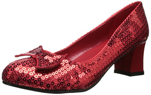 Ellie Shoes Women's 203-judy, Red, 7 M US