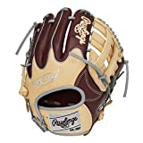 ローリングス(Rawlings) 野球用 軟式 HOH® MLB COLORSYNC [内野手用] サイズ11.25 GR1HMN62W シェリー/キャメル サイズ 11.25 ※右投用