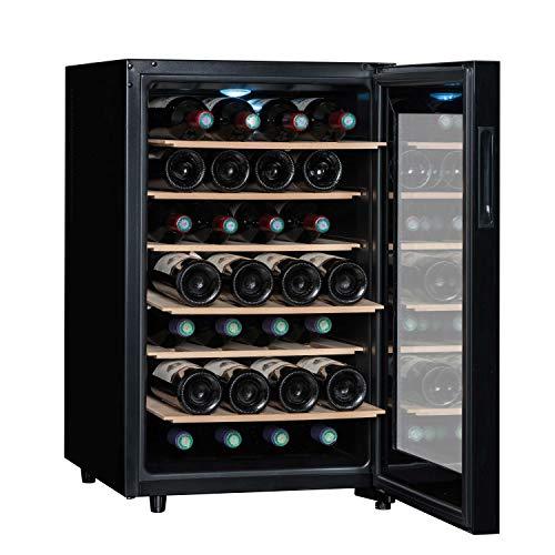 Botellero de servicio | Sommelière LS28CB | Compacto, diseño e intuitivo | Vitrina, almacenamiento y temperatura de 28 botellas