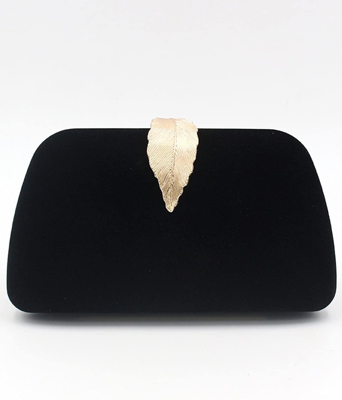 MKOIJN Clutch Evening Bag Evening Handbags Wedding Prom Dinner Handbag Clutch for Women (Color : Black)