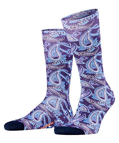 Burlington Herren Paisley Socken, blau (marine 6120), 40-46