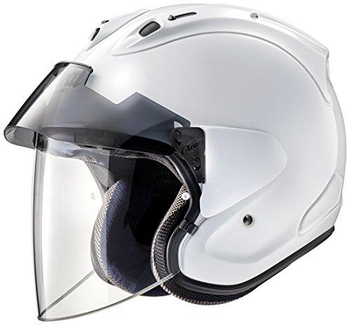 アライ (ARAI) ジェットタイプヘルメット VZ-ラム プラス (VZ-RAM・PLUS) グラスホワイト 57-58cm VZRAM-PLUS_GW57