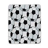 Use7 Home Decor Fußball-Decke, weich, warm, für Bett Couch Sofa, leicht, für Reisen, Camping, 127 cm x 152,4 cm, Überwurfgröße für Kinder Jungen und Damen