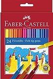 faber castell 949288 astuccio, confezione da 24 pennarelli