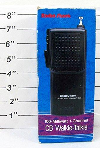 Radio Shack 100-Milliwatt 1-Channel CB Walkie Talkie Set (TRC-92)