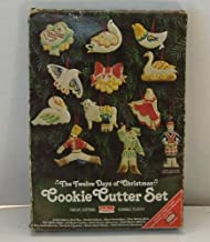 Best cookie cutters 12 days of christmas Reviews