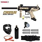 Tippmann Cronus Paintball Marker Gun -Basic Edition- Tan Starter Package