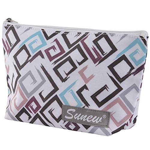 Cosmetic Bag for Women,Sunew Adorable Roomy Makeup Bags Lightweight Display Cases Travel Waterproof...