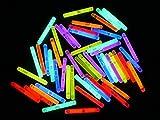 ETU24 50 Mini Knicklichter 38 x 4,5mm Leuchtstäbe Angelsport Bissanzeiger Glowstick Partylichter...