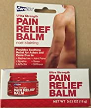 [2 pack] Coralite Ultra Strength Pain Relief Balm - Non-Staining by Coralite