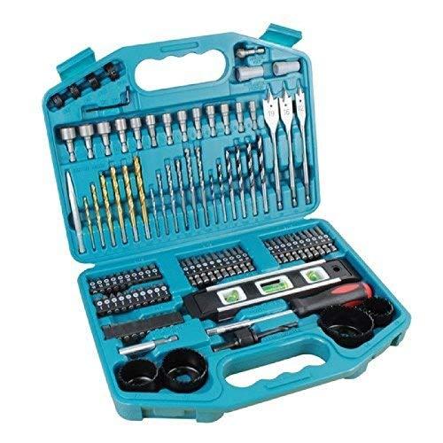 Makita p-67832 101 Piece accessory kit in plastic case Impact Drill Driver Bit Set