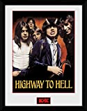 1art1 100284 AC/DC - Highway to Hell Gerahmtes Poster Für