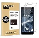 ivoler [Pack de 2] Verre Trempé pour Nokia 5.1 / Nokia 5 2018, Film Protection en Verre trempé...
