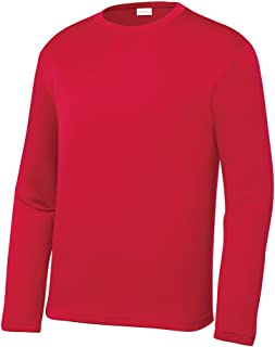 Opna Youth Athletic Performance Long Sleeve Shirts for...