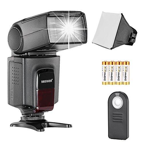 Neewer TT560 - Kit Speedlite Flash per Canon Nikon Olympus Fujifilm e Fotocamere Digitali con Attacco Standard per Slitta a Contatto Caldo