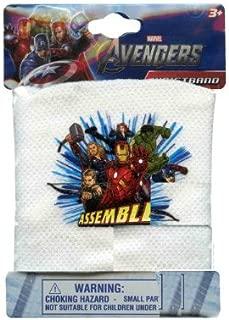 White Mesh Avengers Wristband - Avengers Wrist Band