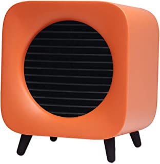 KAILUN Termoventiladores Calefactor Baño Bajo Consumo Calienta En 3 Segundos con Protección De Sobrecalentamiento Y Volcado para Hogar Y Oficina 220V 500W,Naranja