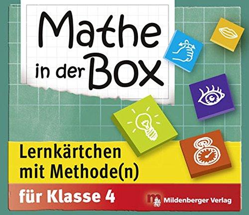 Mathe in der Box – Lernkärtchen mit Methode(n), Klasse 4