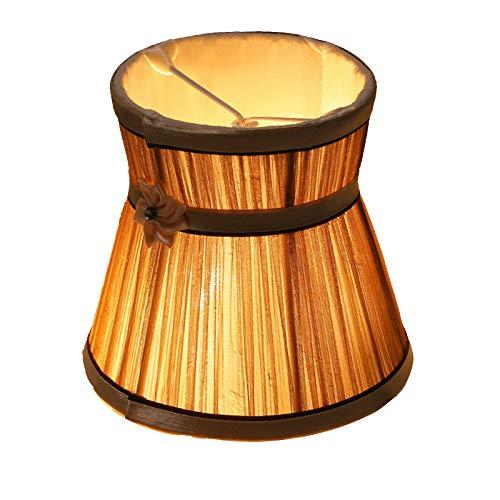 SAC d'épaule Pantalla, chandelera de Cristal de Burbujas de Clip, lámpara de candelabro de Vela, Seta Plegable Tela Pantalla,F