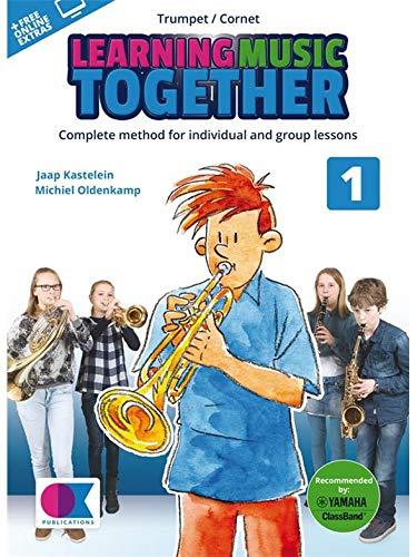 Samen muziek leren: Vol. 1 - Trompet/Cornet (Boek/Online Audio). Bladmuziek, Downloads voor Trompet, Cornet