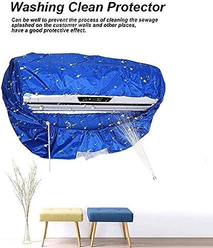 Condizionatore D/'Aria Pulizia Cover Polvere Lavaggio Protezione Impermeabile a