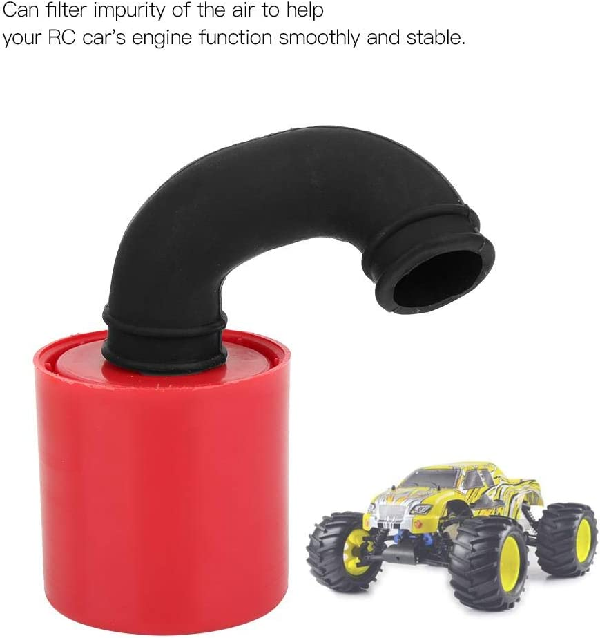 Universal 1:8 Scale Remote Control Car Mini Engine Air Filter 1//8 RC Vehicle Air Cleaner Spare Parts Replacement Accessory T best RC Car Air Filter