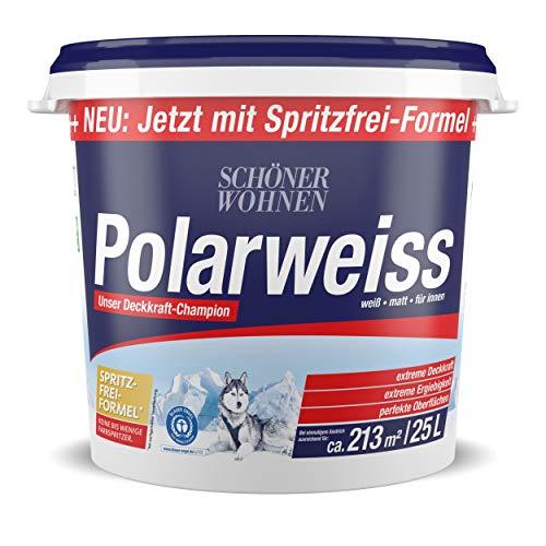 Schöner Wohnen Polarweiss 25,0L weiß scheuerbeständige Wandfarbe für Innen