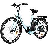 BIKFUN Elektrofahrrad, 20 Zoll E-Bike, Lithium-Akku