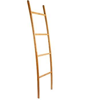 Toalla Escalera – Toallero de bambú 4 barras: Amazon.es: Bricolaje y herramientas