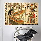 Puzzle 1000 piezas Diseñar patrones de ilustración con elementos históricos del antiguo Egipto puzzle 1000 piezas adultos educativo divertido juego familiar para niños adultos50x75cm(20x30inch)
