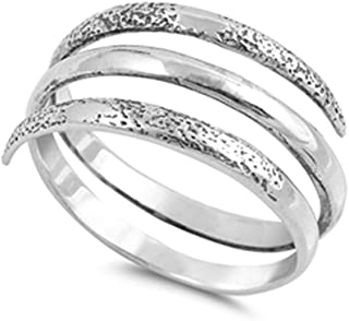 Best silver spiral ring Reviews