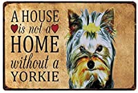 ノンブランド素晴らしいノベルティ犬ニューヨークキーサイン金属サイン錫ポスターホーム装飾バーウォールアート塗装20 x 30