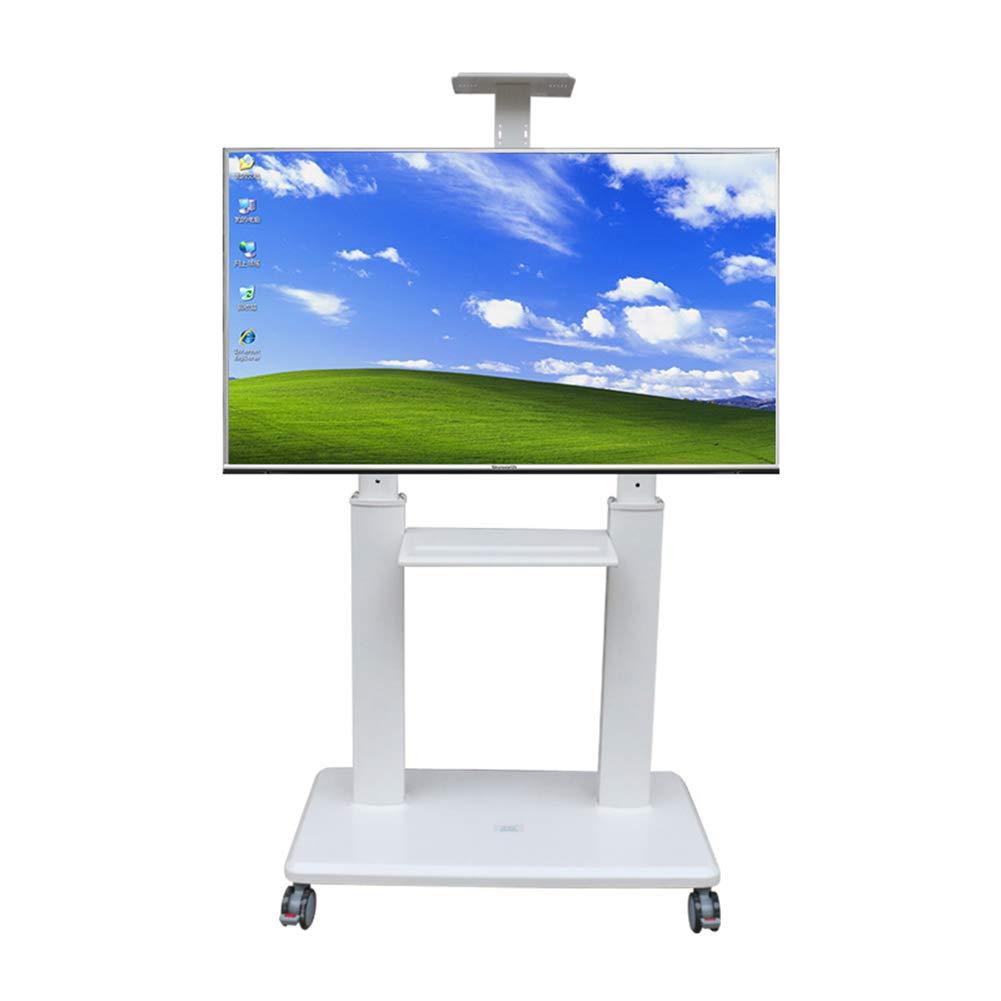 XUE Soporte de TV móvil, Universal TV Carrito Alambre gestión para Panel Plano LCD Pantalla de