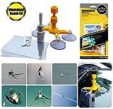 Eashy Kit de réparation de Pare-Brise, Kit d'outils de réparation de Fissure de Pare-Brise pour la réparation de copeaux de Fissure de Pare-Brise de vitre d'auto