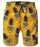 uideazone Mens Boys Swimming Trunks Retro Vintage Swim Shorts...