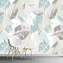Large Wallpaper Custom 3D Photo Wallpaper Roll Nordic Modern Leaves Leaf Petals 3D TV Living Room Wall Non-woven Waterproof Wall Covering Mural Poster Mural