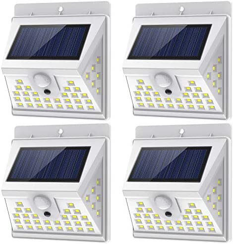 Solar Lights Outdoor Motion Sensor with 3 Lighting Modes 270 Wide Angle Lighting IP65 Waterproof product image