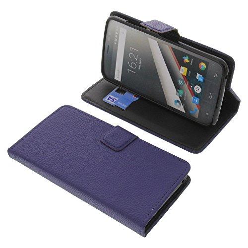 foto-kontor Tasche für Phicomm Clue L Book Style blau Schutz Hülle Buch