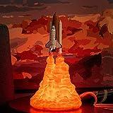 Lámpara de cohete con...