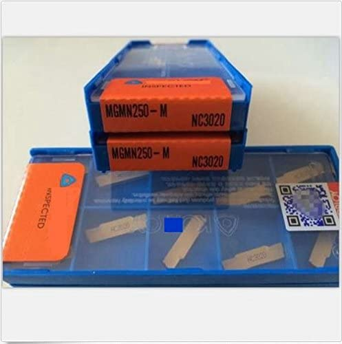2021 ZIMING--1 discount MGMN250-G NC3020 Carbide outlet sale Inserts 10PCS outlet online sale