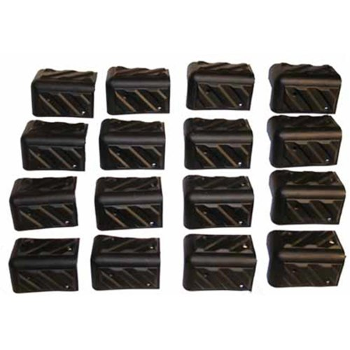 Seismic Audio - Set of 16 SPEAKER CORNERS for PA/DJ CABINET Replacement Corners