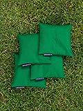 Cornhole Set mit einem Brett und 8 Säckchen – Top Qualität made in Germany, handgemachtes Board und Bean Bags - 4