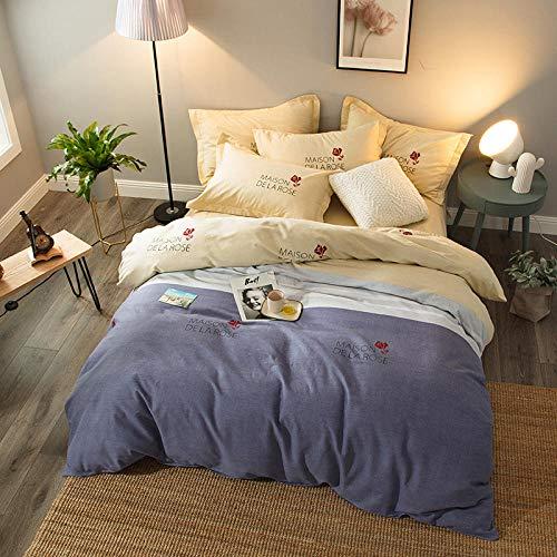 Bettdecke Bettdecken Das Neue Woll-Baumwoll-Quilt-Set Aus Einteiliger...